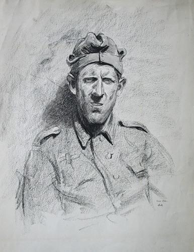 Авакумов Николай. Пленные немцы.