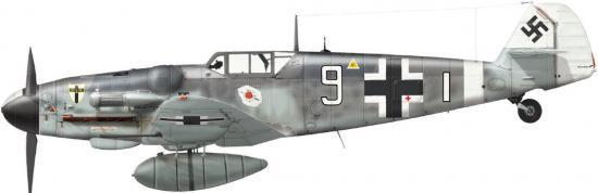 Dekker Thierry. Истребитель Bf-109 G-6.