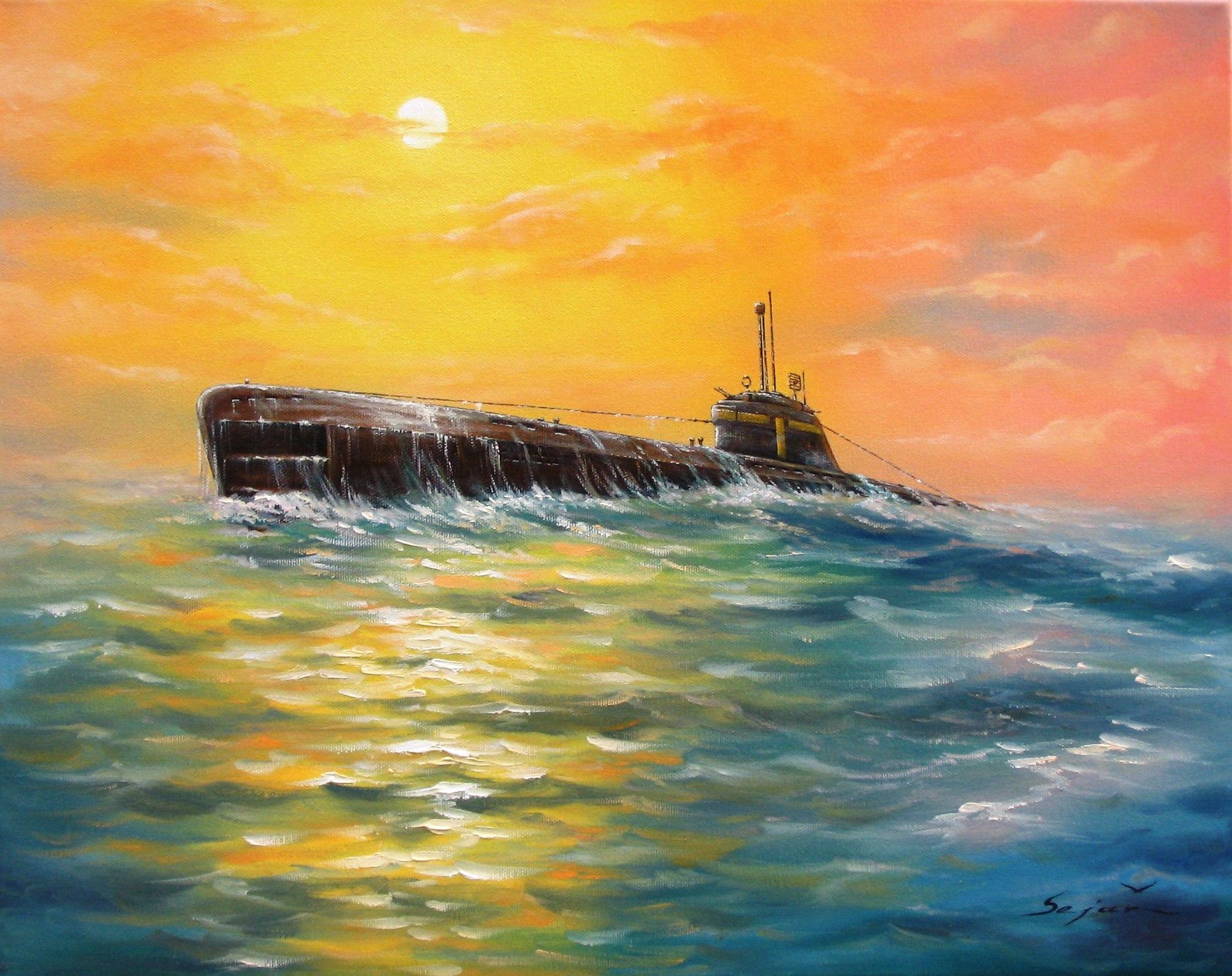 Бекиров Сеяр. Подлодка «U–2511».