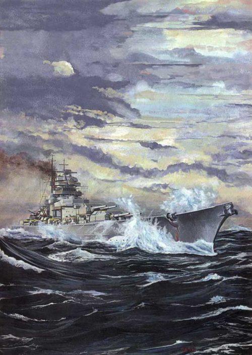 Rode Heinz. Линкор «Bismarck».