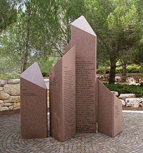 Мемориал еврейским детям, убитым нацистами.