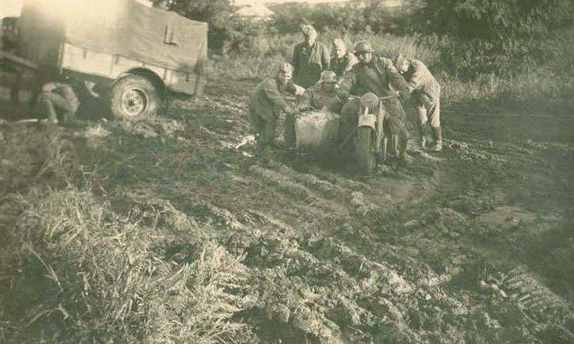 Русские дороги. 1943 г.