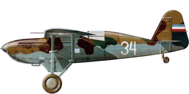 Dhorne Vincent. Истребитель Ikarus IK-2.