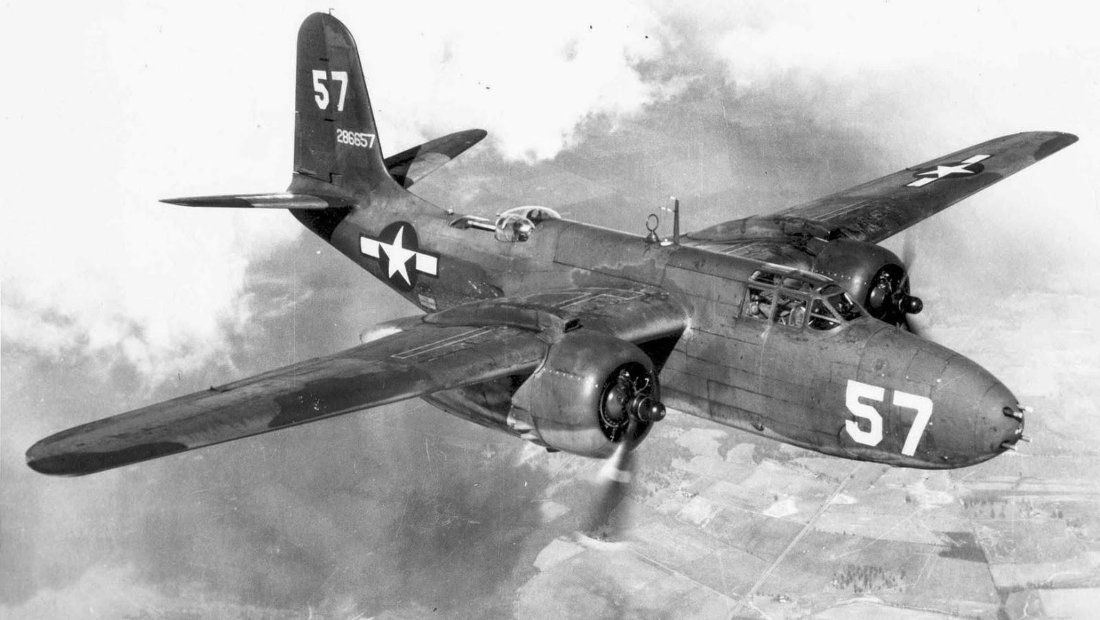 Badrocke Mike. Бомбардировщик Douglas A-20 .