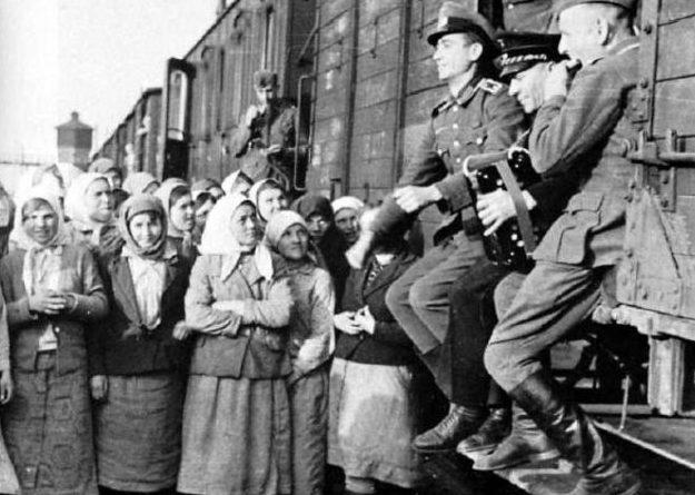 «Концерт» перед угоном на чужбину. Июль, 1942 г.