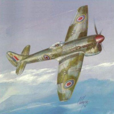 Labeyrie Lionel. Истребитель Hawker Tempest Mk.V.