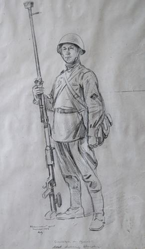 Авакумов Николай. Младший сержант Мячев.
