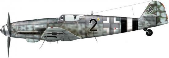 Dekker Thierry. Истребитель Bf-109 G-14.