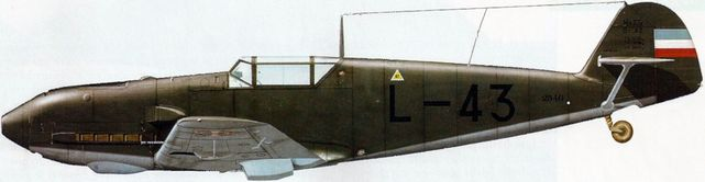 Dhorne Vincent. Истребитель Bf-109 E-3a.