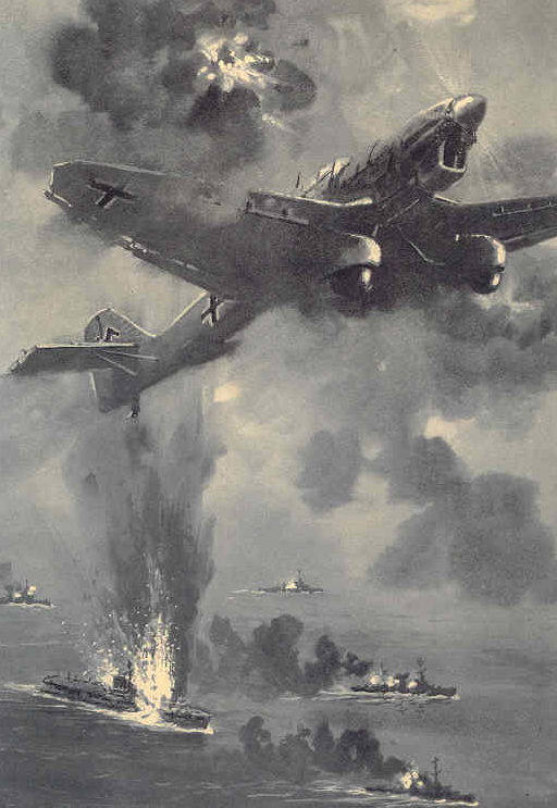 Bock Adolf. Атака с воздуха.