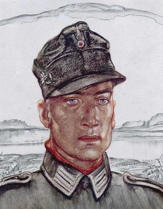 Janesch Albert. Солдат.