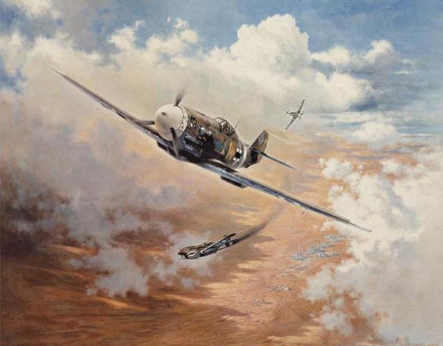 Krebs Heinz. Воздушный бой в Африке.