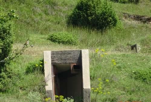 Запасной выход их бункера.