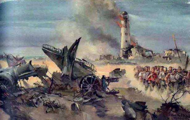Liska Hans. Сбитый самолет в Севастополе.