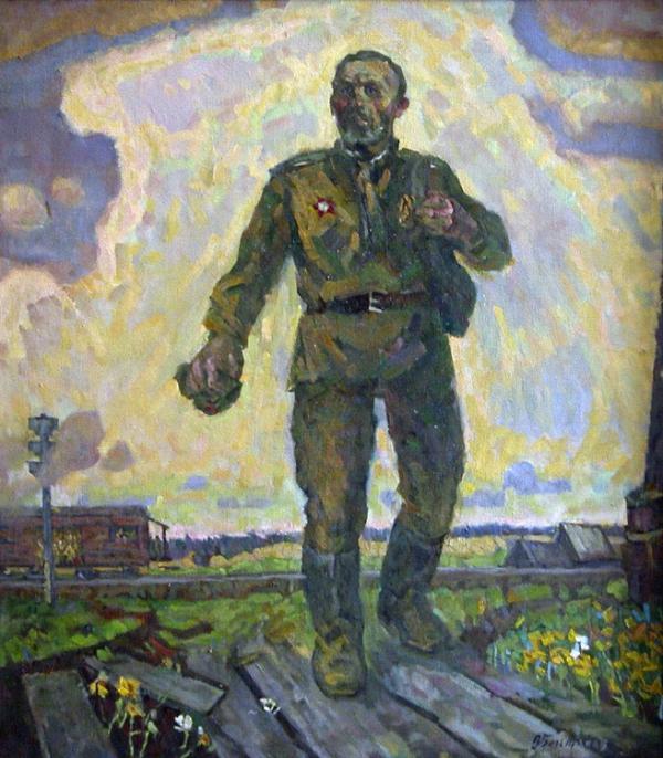 Большаков Виктор. Конец войне.