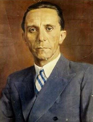 Pitthan V. Йозеф Геббельс.