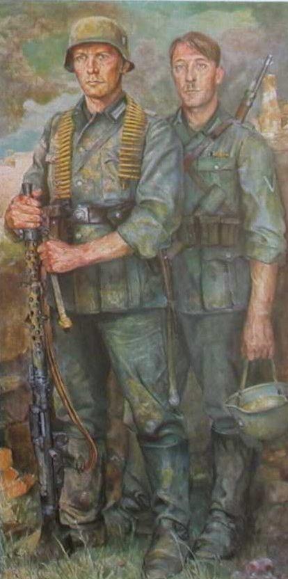 Sauter Wilhelm. Вечные солдаты.