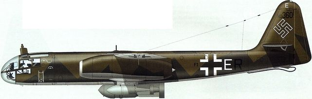 Tilley Pierre-André. Реактивный бомбардировщик Arado Ar 234B-2 .