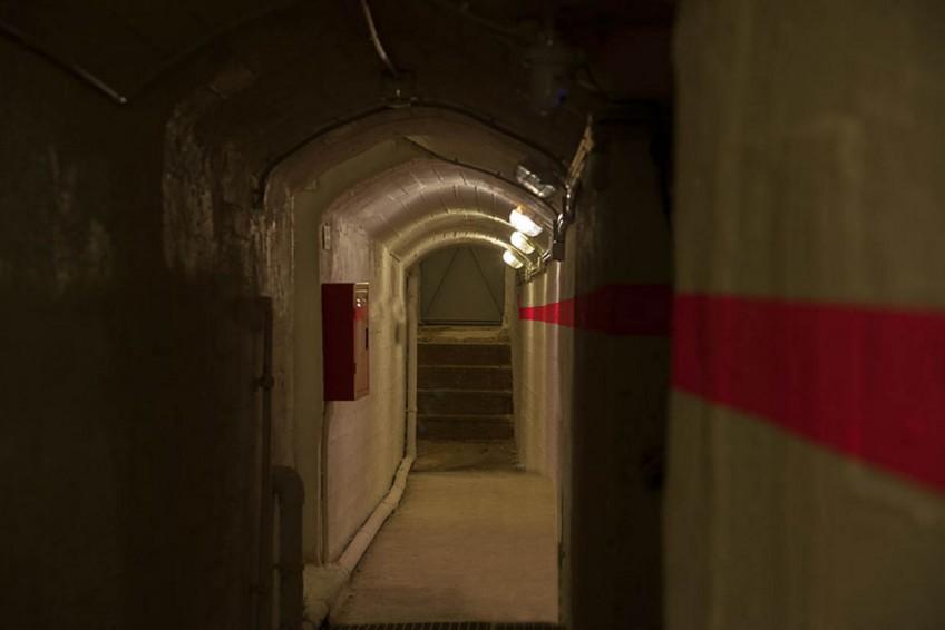 Туннели форта.
