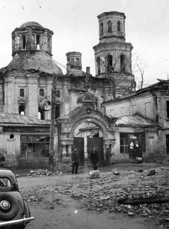 Киево-Печерская лавра. 1942 г.