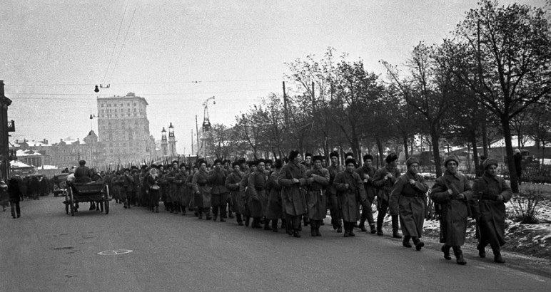Московское ополчение. Осень, 1941 г.