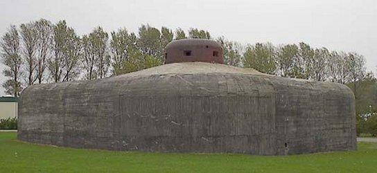 Бункер с бронебашней.