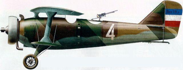 Dhorne Vincent. Истребитель Breguet XIX-8.