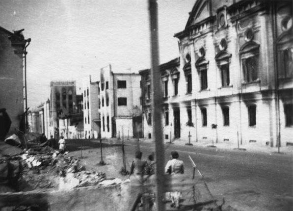 Улица К. Маркса. Лето, 1941 г.