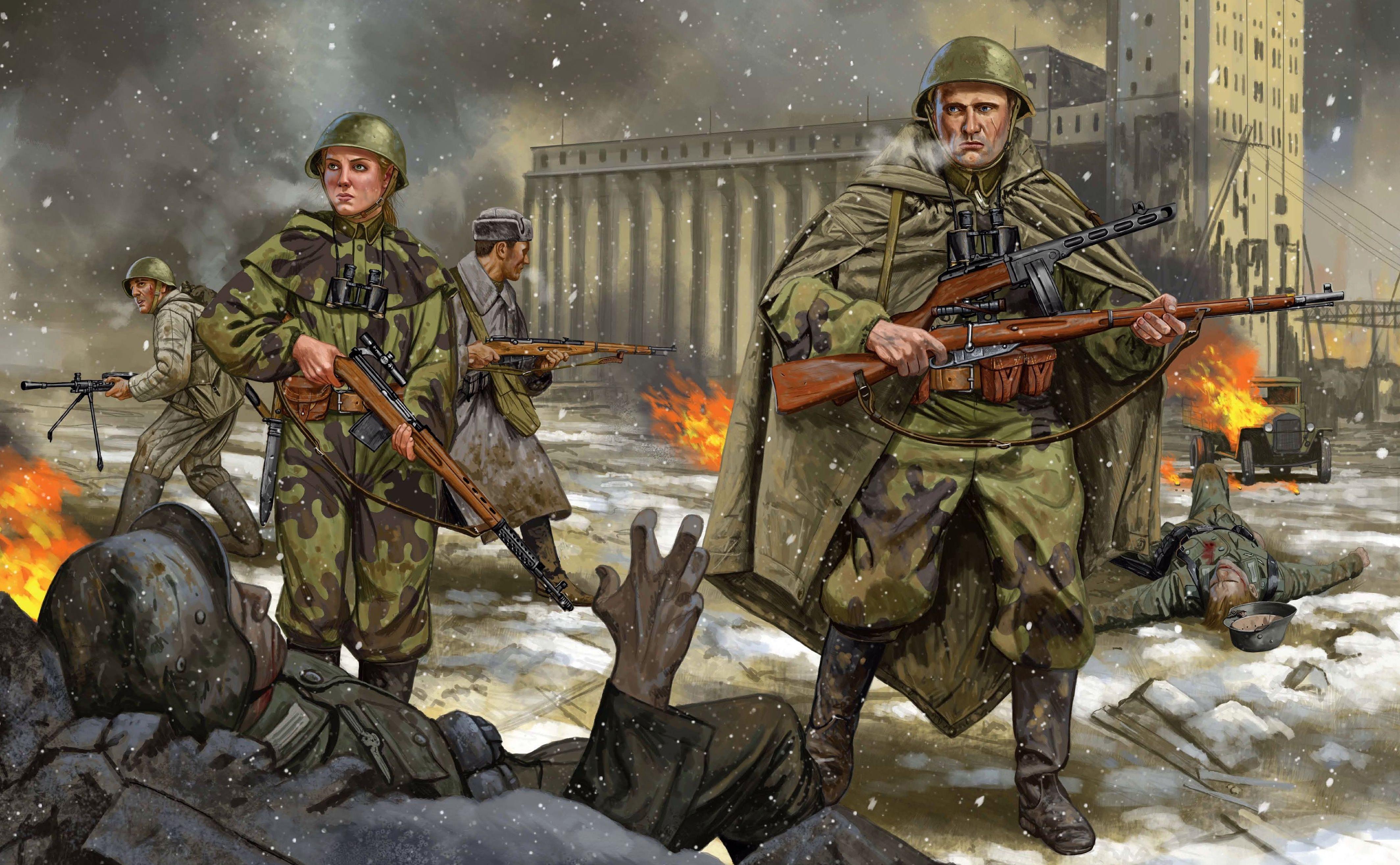 Shumate Johnny. Советская пехота в Сталинграде.