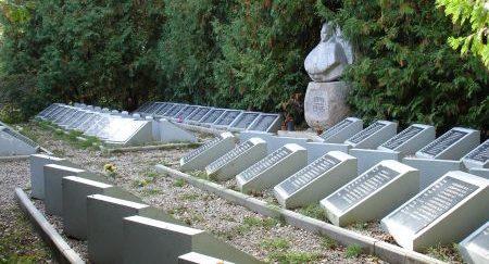 х. Силадамбьи, волость Аннас, край Алукснес. Памятник на братском кладбище, где похоронено 1043 советских воина, в т.ч. 74 неизвестных, погибших в годы Великой Отечественной войны.