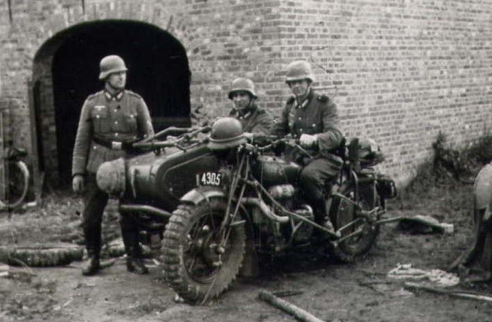 Нидерланды. 1940 г.