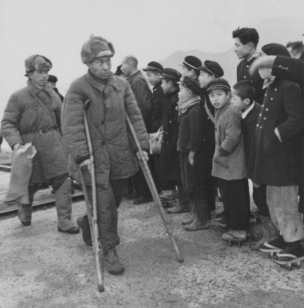 Репатрианты дома. 1950 г.