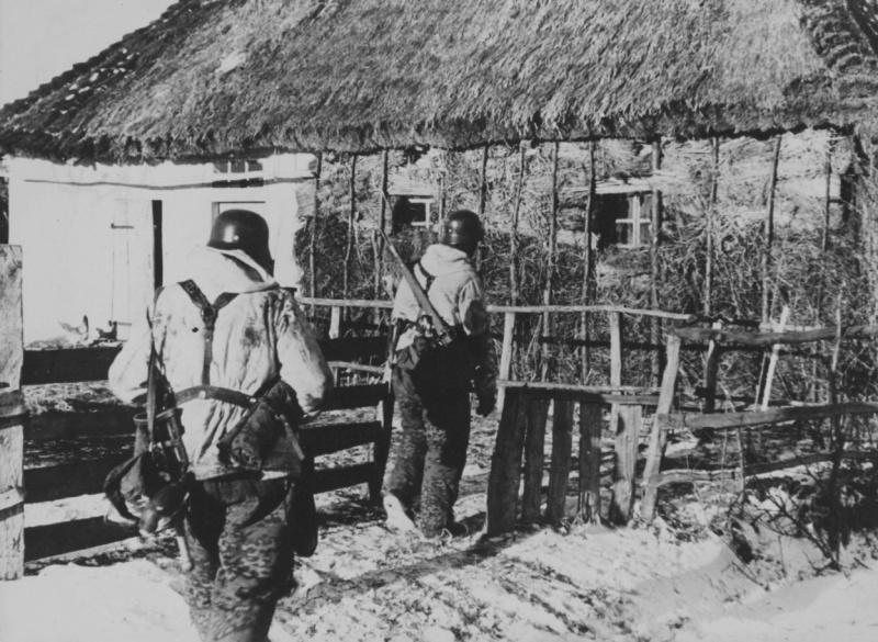 Облава в селе. 1944 г.