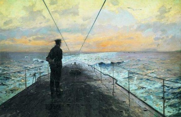 Bergen Claus Friedrich. В море.