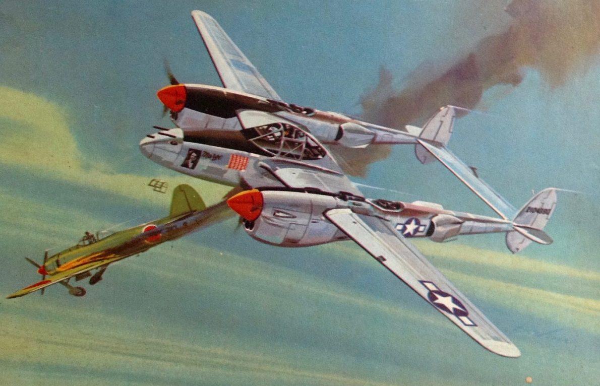 Kuhni Otto. Истребитель Р-38.