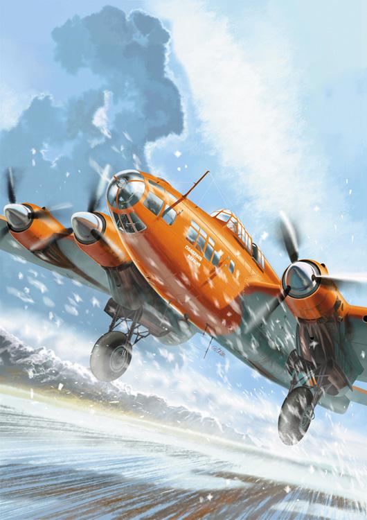 Gibelin Christophe. Бомбардировщик Пе-8.