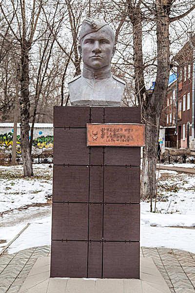 Бюст Герою Советского Союза Федоренко И.