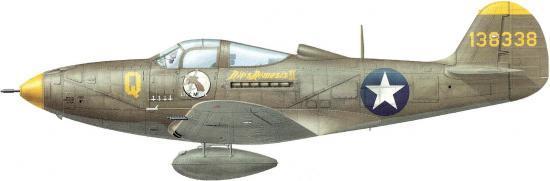 Dekker Thierry. Истребитель Bell P-39D-1.