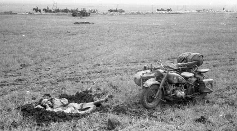 Отдых в степях Украины. 1941 г.