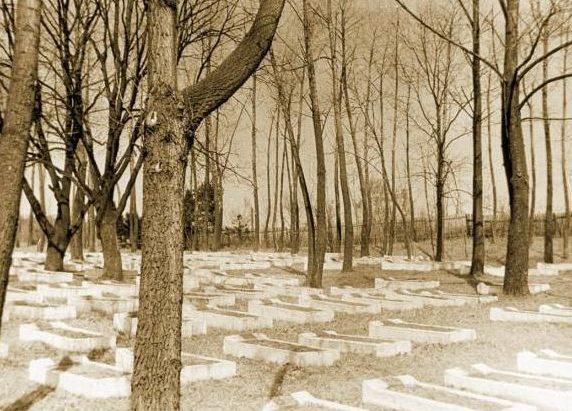 Японское кладбище в Находке.