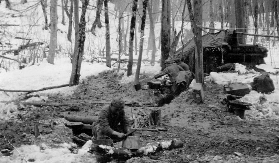 На Кавказе. 1941 г.