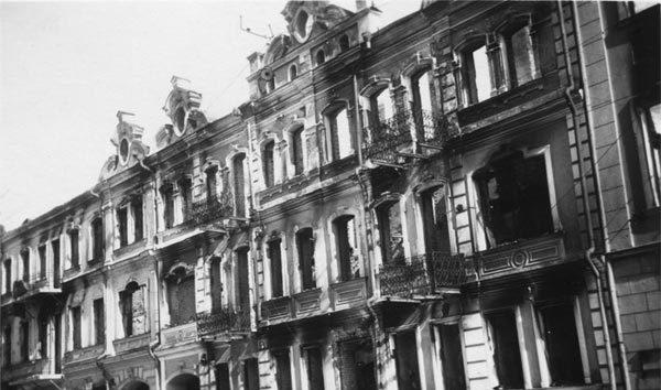Улица Володарского, дом 7. Лето, 1941 г.