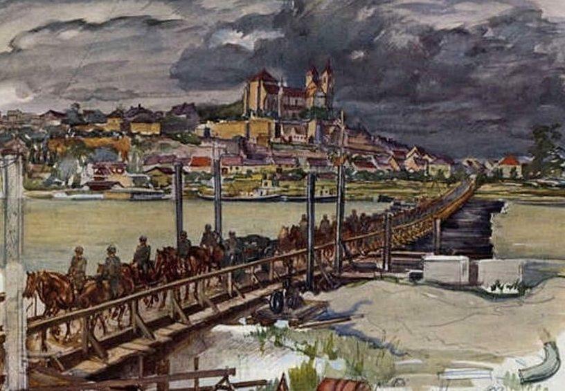 Janesch Albert. Временный мост.