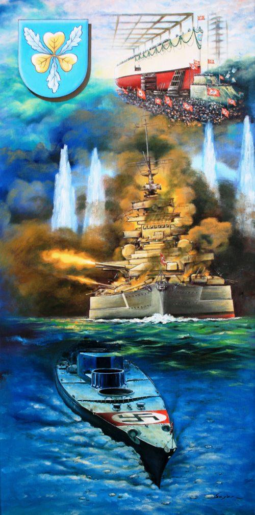 Бекиров Сеяр. Линкор «Bismarck».