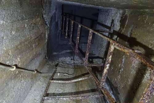 Лестница наблюдательного поста.