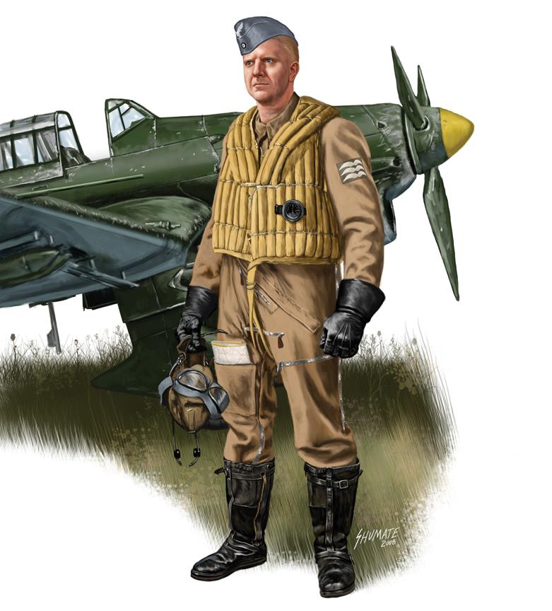 Shumate Johnny. Пилот бомбардировщика.
