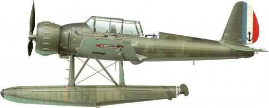 Dekker Thierry. Гидросамолет Arado Ar-196 A-2.