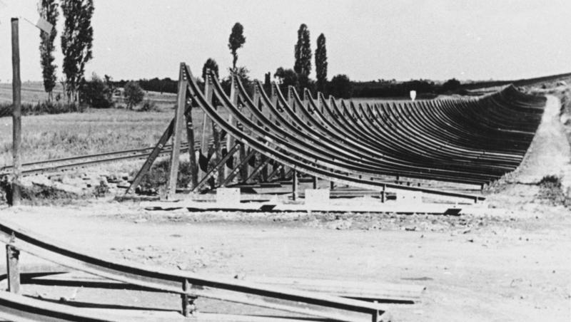 Противотанковые заграждения. Штайнфельд. Март, 1940 г.