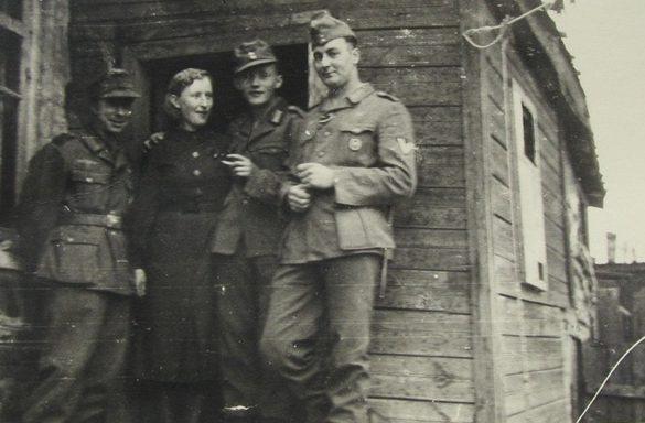 Немецкий бордель. г. Сталино. 1942 г.