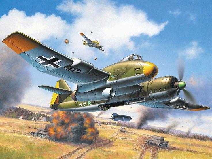 Friedl Egbert. Бомбардировщик Blohm & Voss BV P.194.